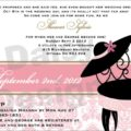 Light Pink Damask Shower invite