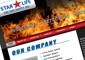 website for StarLife Fire and Safety Inc.