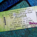 Concert Ticket Avocado