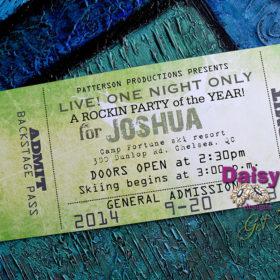 Concert Ticket Avocado