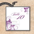 Simply - Charcoal-Purple Table Numbers