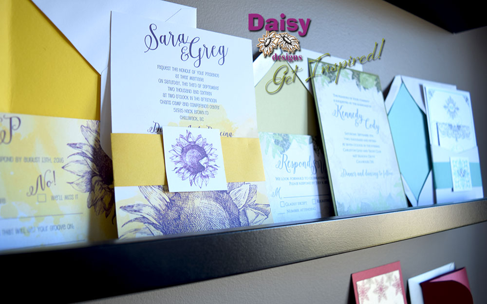 Daisy Designs Studio Samples 1 - photo of invitations