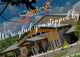 Website for Stanley's Olde Maple Lane Farm