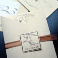 Classic Gatefold invite set