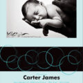Birth Announcement - Circles 2