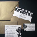 Vintage Damask gold package