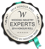 2014 Honour Roll - Wedding Industry Expoerts - Awards