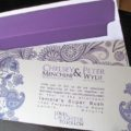 Paisley Frame Invite package