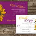 Sunflower Sun Invitation and RSVP