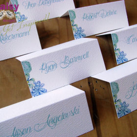 Succulents Seating Cards