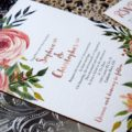 Peaches and Cream Invite