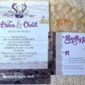 Barnboard and Blossoms invite suite