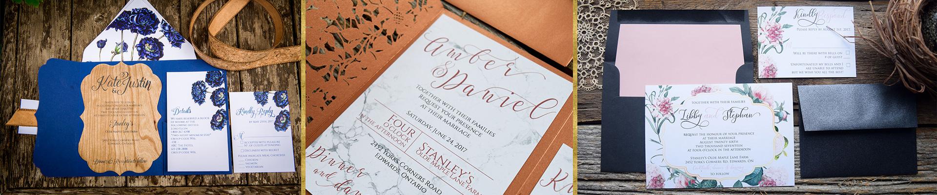 2018 wedding invitations ottawa ontario canada daisy designs stopboris Image collections