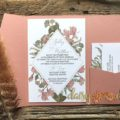 Dusty Daisy invitation suite