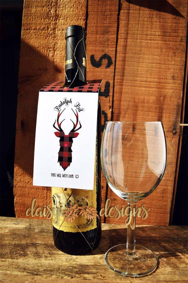 Reindeer Games bottle tags