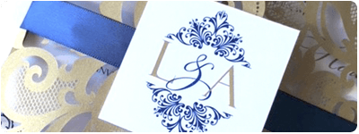 Laser-cut Invitations by Daisy Designs