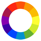 lgbtq colour wheel icon